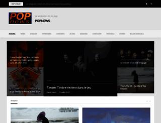 popnews.com screenshot