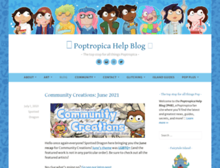 poptropica.wordpress.com screenshot