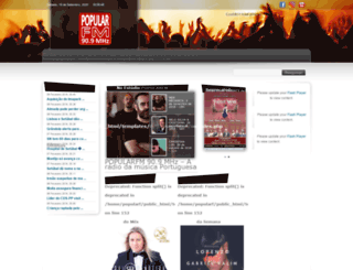popularfm.com screenshot