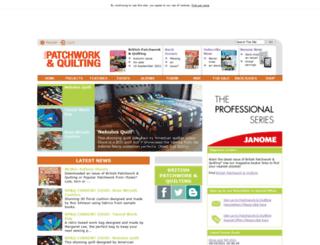popularpatchwork.com screenshot
