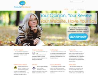 popularreviewer.com screenshot