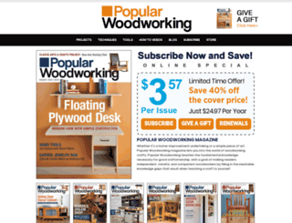 popularwoodworking.secure-subscription-form.com screenshot