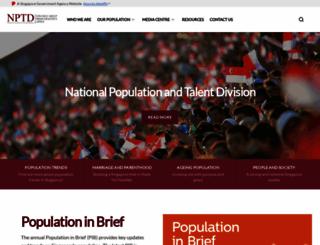 population.sg screenshot