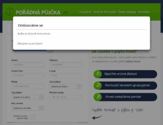 poradnapujcka.cz screenshot