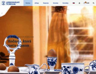 porcelan-cibulovy.sk screenshot