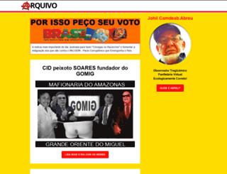 porissopecoseuvoto.com.br screenshot