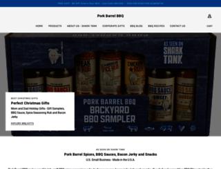 porkbarrelbbq.com screenshot