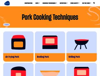 porkbeinspired.com screenshot