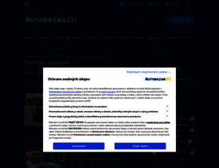porsche-cayenne.autobazar.eu screenshot