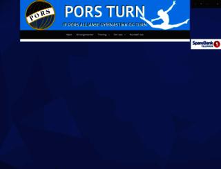 porsturn.no screenshot