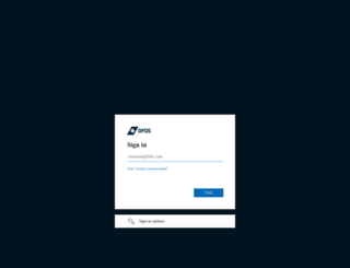 port.dfds.com screenshot