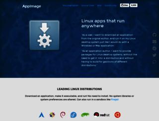 portablelinuxapps.org screenshot
