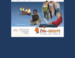portail.csmb.qc.ca screenshot