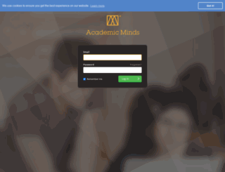 portal.academicminds.co.uk screenshot