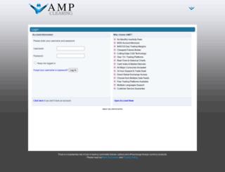 portal.ampclearing.com screenshot