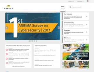 portal.anbima.com.br screenshot