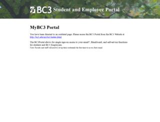 portal.bc3.edu screenshot