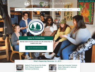 portal.bemidjistate.edu screenshot