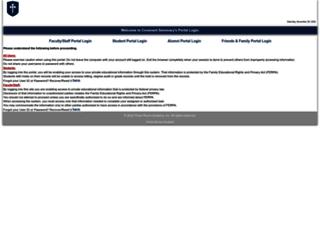 portal.covenantseminary.edu screenshot