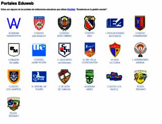 portal.eduweb.com.ve screenshot