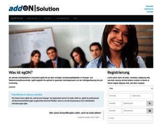 portal.eg-on.com screenshot