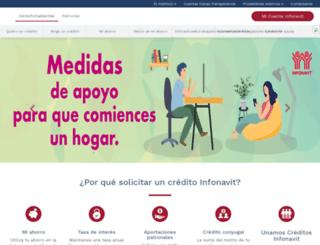 portal.infonavit.org.mx screenshot