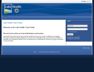 portal.lakehealth.org screenshot