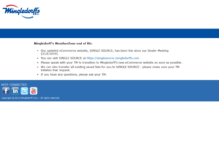 portal.mingledorffs.com screenshot