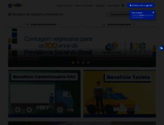 portal.mte.gov.br screenshot