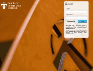 portal.ololcollege.edu screenshot