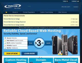 portal.parcom.net screenshot