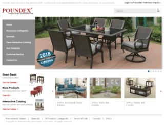 portal.poundex.com screenshot