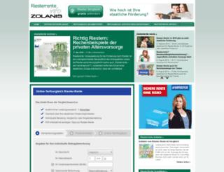 portal.riesterrente-info.de screenshot