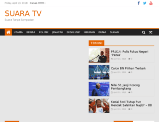 portal.suara.tv screenshot