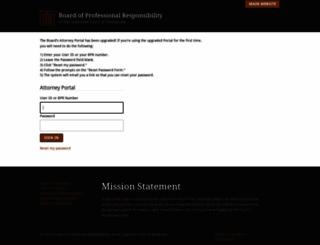 portal.tbpr.org screenshot