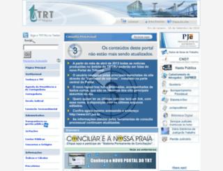 portal1.trtrio.gov.br screenshot