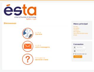 portal2014.esta-belfort.fr screenshot