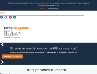 portalabogados.es screenshot