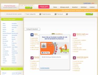 portalanunt.ro screenshot