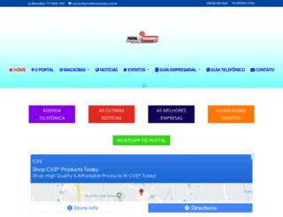 portaldemacaubas.com.br screenshot