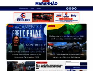 portaldomaranhao.com.br screenshot