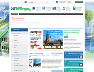 portalenergia.pl screenshot