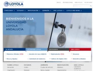 portales.uloyola.es screenshot