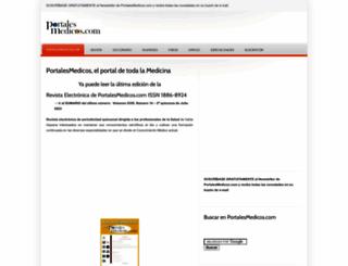 portalesmedicos.com screenshot