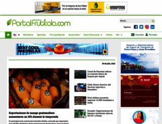 portalfruticola.com screenshot