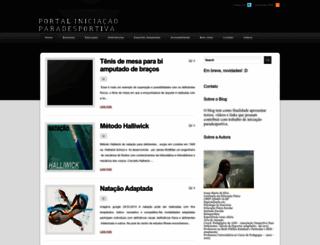 portaliniciaoparadesportiva.blogspot.com.br screenshot