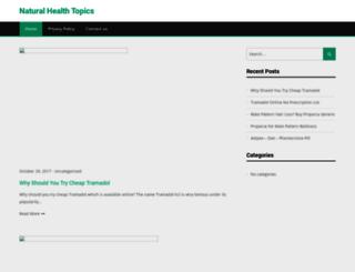 portalofnaturalhealth.com screenshot
