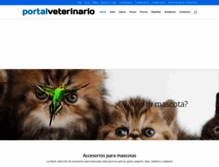 portalveterinario.com screenshot