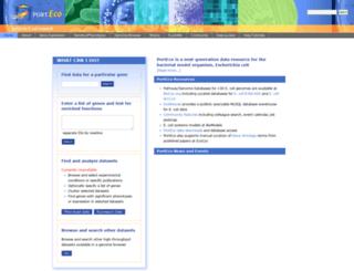 porteco.org screenshot