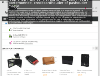 portemonneez.nl screenshot